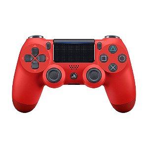 Controle Dualshock 4 PS4 Vermelho - Sony