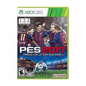 Jogo Pro Evolution Soccer 2017 (PES 2017) - Xbox 360