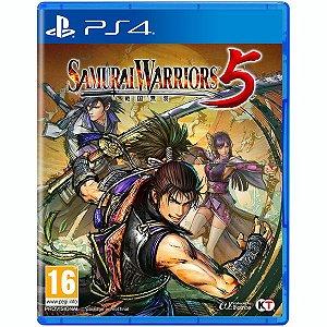 Jogo PS4 Samurai Warriors 5