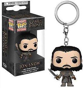 Chaveiro Pocket Pop - Jon Snow - Game of Thrones