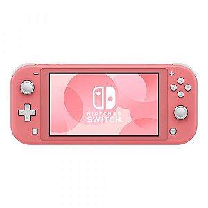 Console Nintendo Switch Lite - Rosa