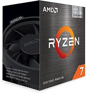 Processador AMD Ryzen 7 5700G 3.8 até 4.6GHZ 20MB AM4 Wraith Stealth Radeon