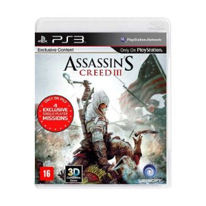 Jogo Assassin's Creed 3 - PS3
