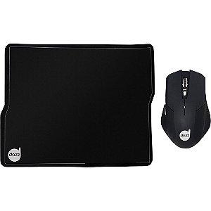 Kit Mouse Pad + Mouse Tiglon 3200 dpi - Dazz