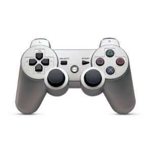 Controle Bluetooth Dazz Prata - PS3