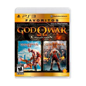 Jogo God of War: Favoritos Collection - PS3
