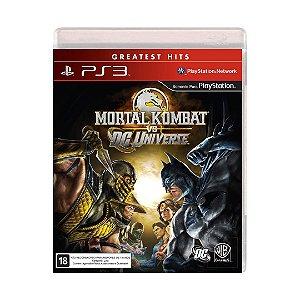 Jogo Mortal Kombat vs. DC Universe - PS3