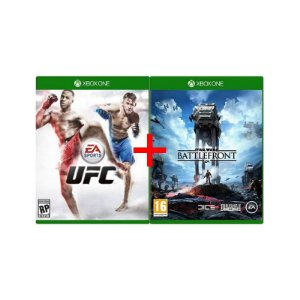 Jogos UFC + Star Wars: Battlefront - Xbox One