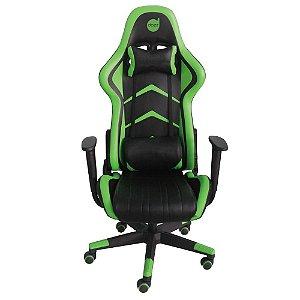 Cadeira Gamer Prime Green 624719 - Dazz