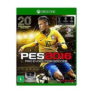 Jogo Pro Evolution Soccer 2016 (PES 2016) - Xbox One