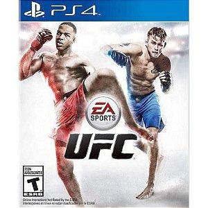 Jogo UFC - PS4