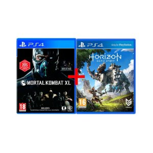 Jogos Horizon: Zero Dawn + Mortal Kombat XL - PS4