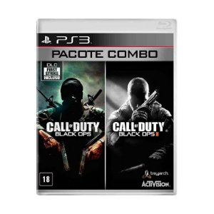 Jogo Call of Duty: Black Ops 1 + Call of Duty: Black Ops 2 (Combo Pack) - PS3