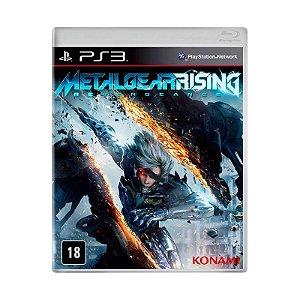 Jogo Metal Gear Rising: Revengeance - PS3