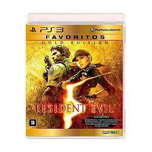 Jogo Resident Evil 5 (Gold Edition) - PS3