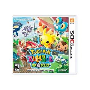Jogo Pokémon Rumble World - 3DS