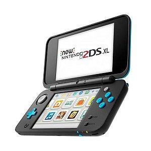 Console New 2DS XL Nintendo Azul/Preto