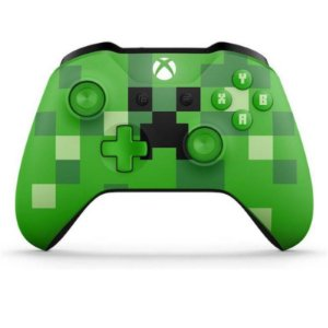 Controle Xbox One - Minecraft Creeper