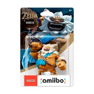 Nintendo Amiibo: Daruk - The Legend of Zelda: Breath of the Wild - Wii U, New Nintendo 3DS e Nintendo Switch