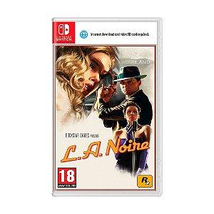 JOGOS Jogo L.A. Noire - Switch