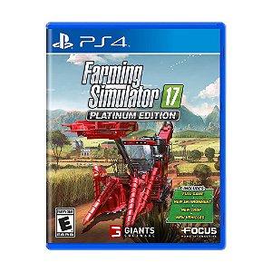 Jogo Farming Simulator 17 (Platinum Edition) - PS4
