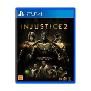 Jogo Injustice 2: Legendary Edition - PS4