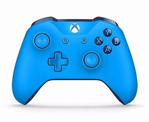 Controle Wireless Xbox One Azul