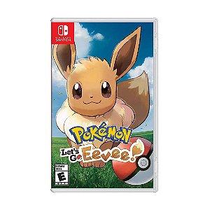 Jogo Pokémon: Lets Go Eevee - Switch