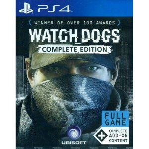 Jogo Watch Dogs - (Complete Edition)  PS4