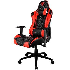 Cadeira Gamer THUNDERX3 TGC12 Preta e Vermelha