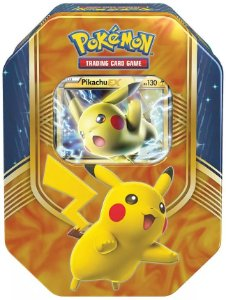 Pokémon - Lata Pikachu Ex - Em Português