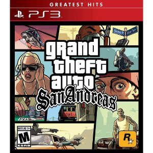 Jogo Grand Theft Auto: San Andreas - PS3