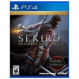 Jogo Sekiro: Shadows Die Twice - PS4