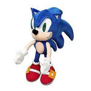 Pelúcia Sonic - 30 cm