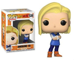 Boneco Funko Pop Dragon Ball Z #530 - Android 18
