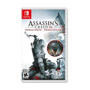 Jogo Assassin's Creed III - Remastered - Switch