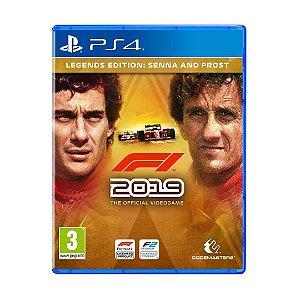 Jogo F1 2019 (Legends Edition Senna & Prost) - PS4