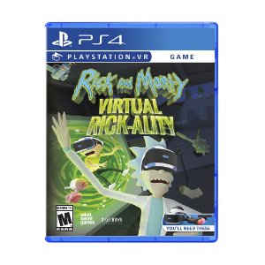 Jogo Rick and Morty: Virtual Rick-ality - PS4