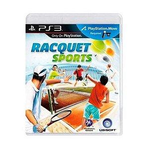 Jogo Racquet Sports - PS3