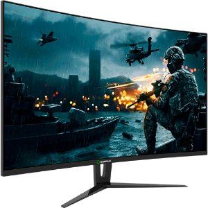 Monitor Gamer GameMax 27 Pol Curvo, Full HD, 144Hz, 1ms, Black, GMX27C144