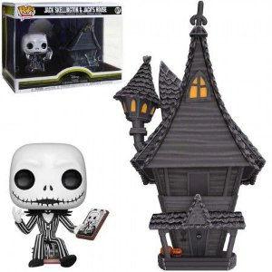 Boneco Funko Nightmare Before Christmas #07 - Jack Skellington & Jack's House