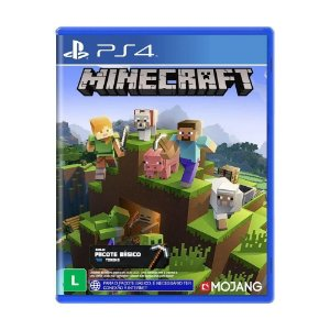 Jogo Minecraft (pacote básico) -  PS4