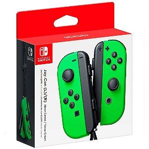 Controle Joy Con Nintendo Switch Par Verde - Nintendo