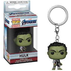 Chaveiro Pocket Pop - Hulk - Marvel