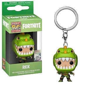 Chaveiro Pocket Pop - Rex - Fortnite