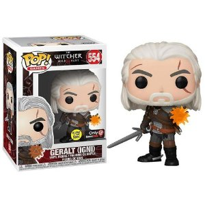 Boneco Funko Pop The Witcher #554 - Gerald