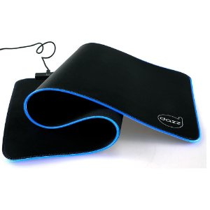 Mouse Pad Gamer Lumus Speed RGB - Extra Grande - Dazz