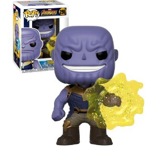 Funko Pop #296 - Thanos - Vingadores: Guerra Infinita