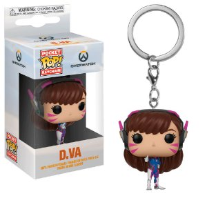 Chaveiro Pocket Pop - D.VA - Overwatch