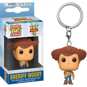 Chaveiro Pocket Pop - Woody - Toy Story